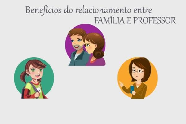 Benefícios do relacionamento entre família e professor