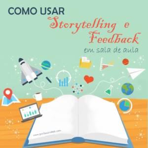 Livro representando o uso de Storytelling