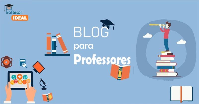 Blog para professores sobre educação