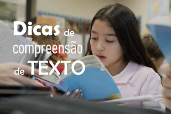 Compreensão de texto: Dicas para ajudar os alunos