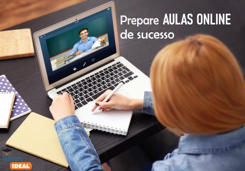 5 dicas para preparar aulas online de sucesso
