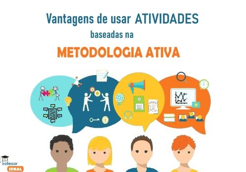 Vantagens de usar atividades baseadas na metodologia ativa